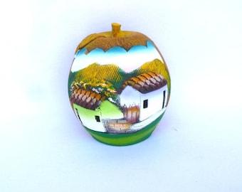 HANDPAINTED MEXICAN Art JAR