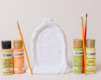 Fairy Door| Christmas Decoration | Pottery | Paint Your Own Christmas Decoration | Ceramic | Kids Project | Handmade Ceramic