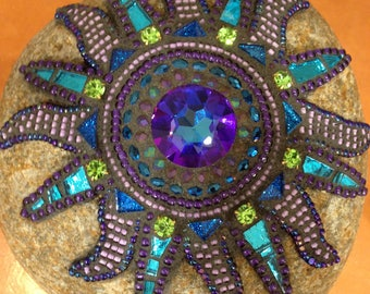 Mosaic Sun Rock