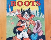 Puss in Boots Storybook Dorothy Buck copyright 1930