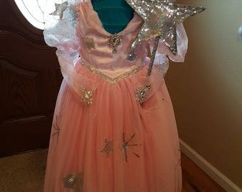 Glinda the Good Witch inspired costume for kids!