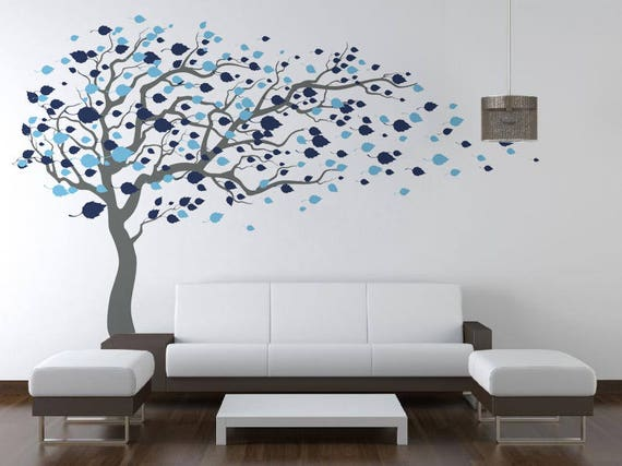Living Room Decals tree wall decals baby room decal vinyl wall decal wall