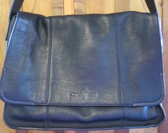 Cole Haan Leather Messenger Bag Briefcase Laptop Bag EXCELLENT