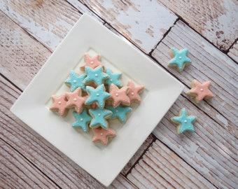 Starfish Iced Sugar Cookies  - (2 Dozen)