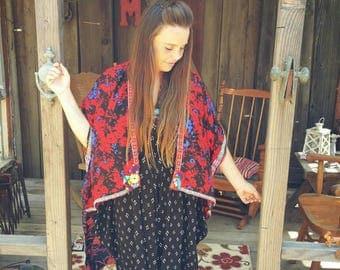 festival kimono, boho kimono, gypsy kimono, boho robe, kimono robe, one of a kind kimono, festival jacket, kimono cardigan, boho cardigan