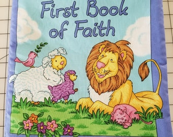 My First Book of Faith Fabric Book