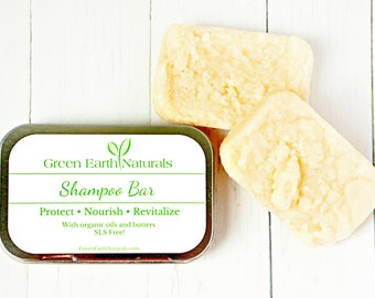 Shampoo Bar | Natural Shampoo | Solid Shampoo | SLS Free Shampoo | Travel Shampoo | Organic Hair Care | Natural Hair Care | Paraben free