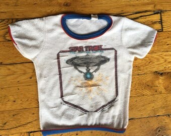1979 Star Trek The Motion Picture baby shirt