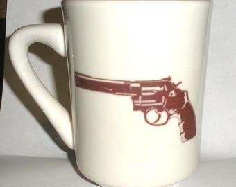 Cool Go Ahead Make My Day .44 Magnum Ceramic Coffee Mug dirty harry