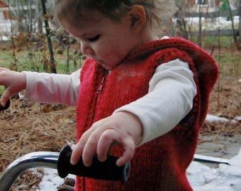 Knitting Pattern | Knitting Pure & Simple | BULKY HOODED VEST For Children  | Handknitting | Hand Knit | Knit Sweater | Kids | Children