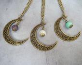 Colliers Lunes coloris au choix