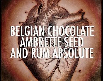 Belgian Chocolate, Ambrette Seed and Rum Absolute - 4oz Atmosphere Spray: Black Phoenix Trading Post
