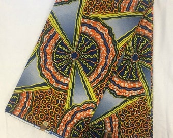 ON SALE African Print Fabric   (sold by the yard)