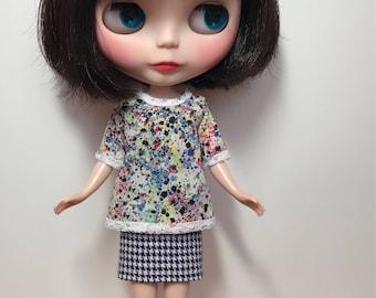 Rosiee Gelutie  Top and Skirt Set