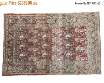 10% OFF RUGS 3.5x5.5 Distressed Persian Rug