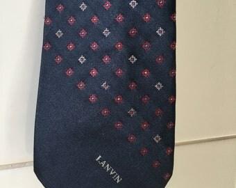 Vintage Lanvin Silk Necktie