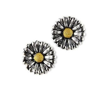 Limited Time Offer Daisy Cufflinks - Gifts for Men - Anniversary Gift - Handmade - Gift Box Included