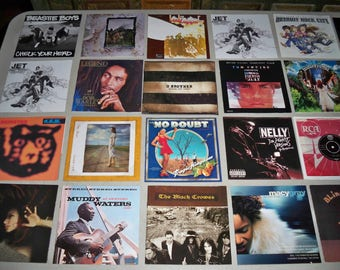 Vintage 147 Piece Cd Cover & Booklet Collection of Various Artists