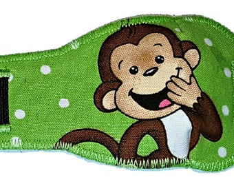 Monkey Eye-Lids - kids eye patches - soft, washable eye patches for children and adults