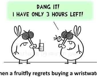 Science joke about Fruit Flies