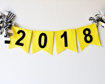 Class of 2018 banner - graduation decor - 2018 banner - 2018 senior photo prop - senior picture photo prop - 2018 photo prop - senior 2018