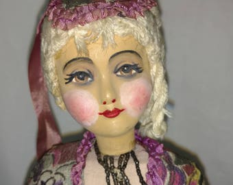 Large German Boudoir Doll 1930's