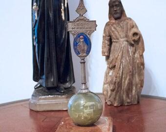 RARE Vintage Legion of Mary Icon Statue