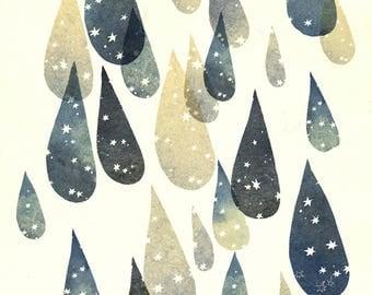 summer Rain _ ArtPrint / Poster