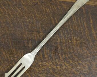 antique gold tone pickle fork