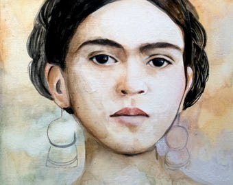 Frida inspired portrait