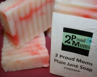 2 Proud Moms - Plain Jane Soap - Creamsicle