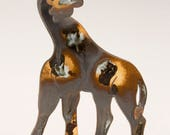 Giraffe - Ceramic hand built sculpture