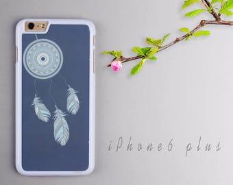 Dream Catcher iPhone 6 plus case, White iPhone 6s plus Plastic case, iPhone 6s PC cover - HTPC6P26