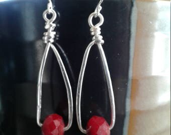 Hammered Crystal Red