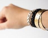 Leather Bracelet Set / Route 66