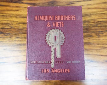 Original WWII 1941 Almquist Brothers & Viets Hardware Catalog No 41, Vintage Tools Equipment Catalogues