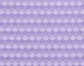 Purple Mermaid Tail Scales From Riley Blake's Under The Sea Collection by Doodlebug Designs