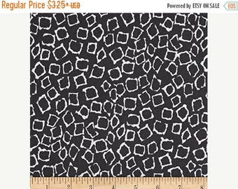 "SUMMER SALE Fat Quarter ONLY (18""x22"") of Migration Charcoal Geo Giraffe from Michael Miller's Migration Collection"