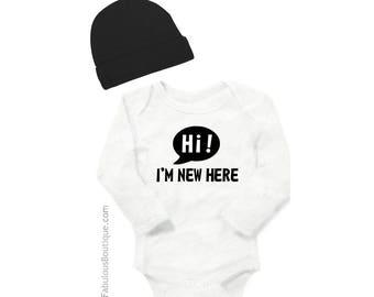 New Baby Gift,Baby shower,gift,newborn,baby gift,new arrival,newborn boy,newborn girl, baby bodysuit,baby onesie,hi,i'm new here