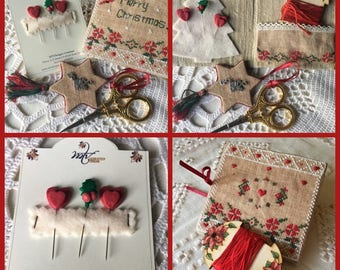 Merry Christmas Sewing Set