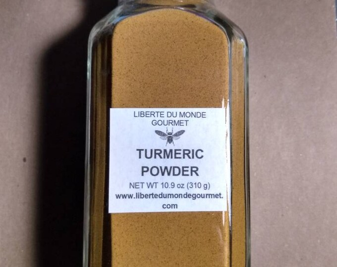 Turmeric Powder in a Variety of Sizes and Packaging