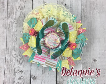 Shabby Chic Boutique ~ Stacked Boutique Bow