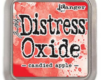 Tim Holtz Distress Oxide Candied Apple Ink Pad, TDO55860, Ranger, Papercrafting, Scrapbook,  Stamping, Mixed Media