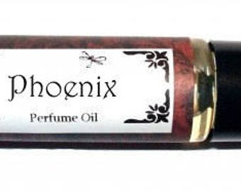 PHOENIX -  Roll on Premium Perfume Oil -  2 sizes to choose from - 1/3 oz or 1/6 oz -  bergamot, peaches, strawberry, orange, raspberries