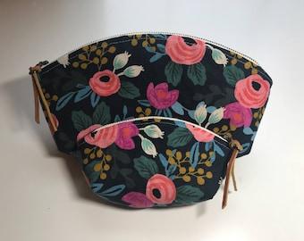 Floral Petal Pouch Set