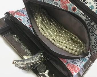 Jewelry Organizer, Travel Case, Jewelry Travel Case, Travel Roll, Jewelry Holder, Jewelry Storage,