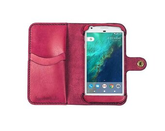 Google Pixel XL Leather Phone Wallet Case / Google pixel XL wallet / pixel XL phone case / google pixel xl wristlet