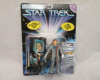 Star Trek Original Series Captain Kirk in Environmental Suit Action Figure - New in Box - NIB - From episode The Tholian Web