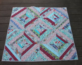 Knuffle Bunny String Quilt