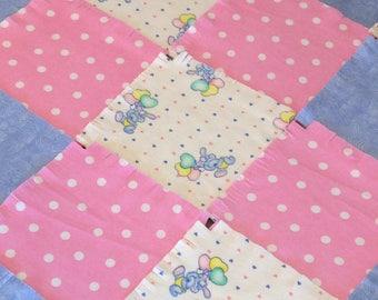 Pre cut dots | Etsy : pre cut flannel rag quilt kits - Adamdwight.com